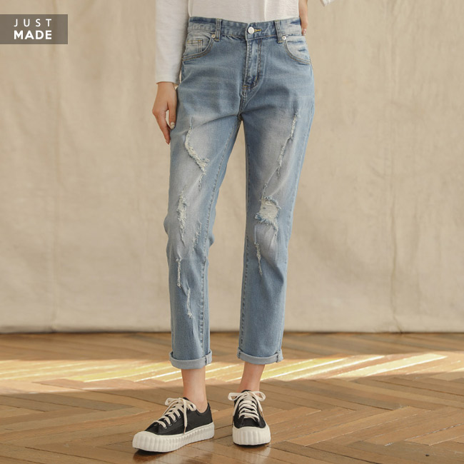 <br> 8BO23_ Malangspan refreshment baggy jeans